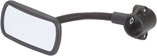 HR Imotion HR 10411101 Bicycle rear view Mirror 55 x 115 x 210 mm/2,2 x 4,6 x 8,1 inch - with adjustable gooseneck Made in Germany by HR Imotion (Image #1)