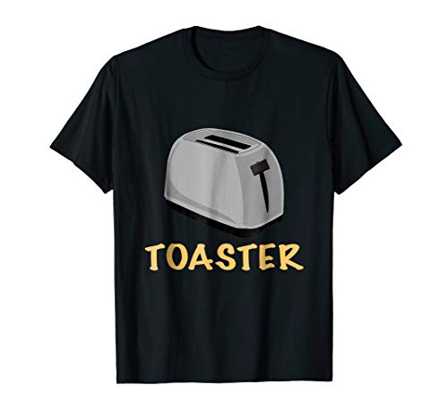 Toaster Oven Lazy Halloween Costume T-Shirt Matching -