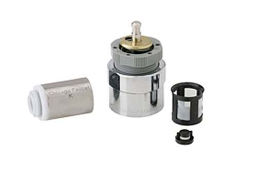Chicago Faucets 667-080KJKNF MVP Actuator Assembly and Metering Valve Cartridge with In-line Filter ()