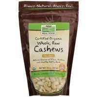 Organic Whole Raw Cashews 10 oz - 2 Pack