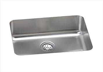 elkay elu2317 stainless steel 8 inch deep gourmet 18 1 4 inch elkay elu2317 stainless steel 8 inch deep gourmet 18 1 4 inch x 24      rh   amazon com