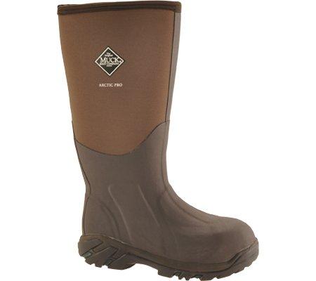 Muck Boot Artic Pro Waterproof Flexible Lightweight Steel Toe Boots Brown M9/W10 US