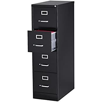 office dimensions commercial 4 drawer letter width vertical file 25inch deep black
