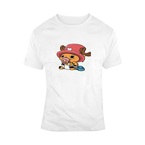 BSDHGSDH ONE Piece ワンーピス Unisex All-Over 3D Printed Graphic T-Shirts Short Sleeve Tees Men's Assorted V-Neck T-Shirts Ultra Soft Cotton T-Shirt Tony Tony Chopper XXL