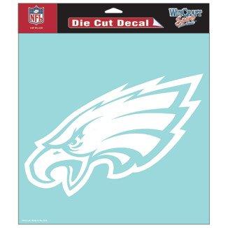 Philadelphia Eagles Die Cut Car Window Sticker Decal (8 x 8-Inches) (Philadelphia Eagles Decal compare prices)