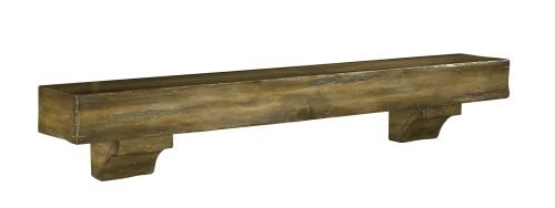 Pearl Mantels Shenandoah Traditional Fireplace Mantel Shelf by Pearl Mantels