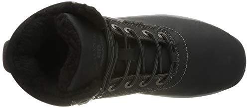 Allineato Invernali Da nero Caloroso Stivaletti Neve Abtop Pelliccia Stivali Boots Sportive Ab7445 Piatto Scarpe Uomo Caviglia Escursionismo wICxqEY