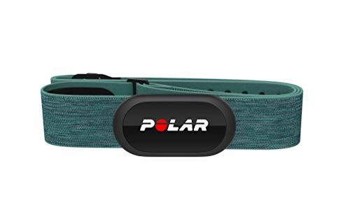 (Polar H10 Heart Rate Monitor, Bluetooth HRM Chest Strap - iPhone & Android Compatible, Turquoise)