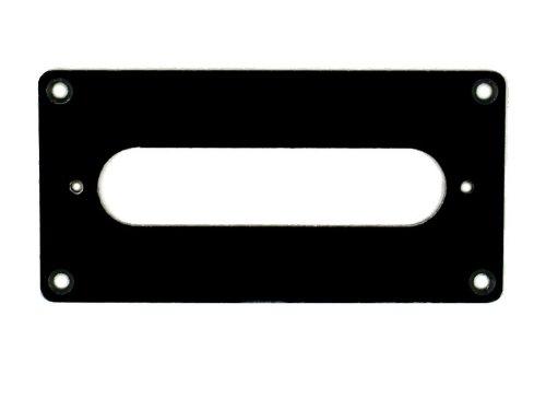 Tele Humbucker Neck - Humbucker to Tele Style Neck Pickup Adapter Ring ,H-TN 1-Ply Black