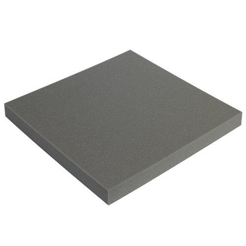 Charcoal 2 x 12 x 12 Partners Brand PFSC12122 Soft Foam Sheets Pack of 24