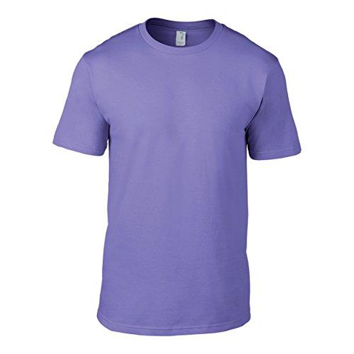 Anvil Organic Fashion Tee / T-Shirt (M) (Violet)