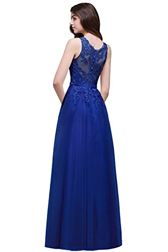 vestidos royal blue - 1