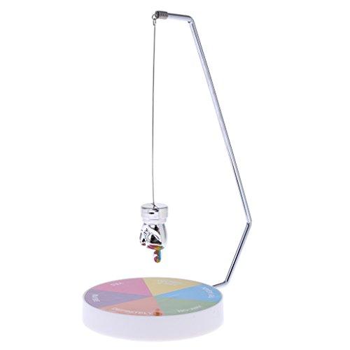Perfk オフィス おもちゃ 置物 意思決定者 磁気振り子 楽しい エグゼクティブ 魔法のノベルティ 全4カラー - #1