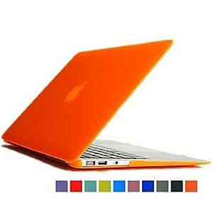 ZCL- color sólido opaco esmalte de flip-abierto caso de protección para el macbook 11.6 pulgadas de aire (colores surtidos) , Azul Oscuro