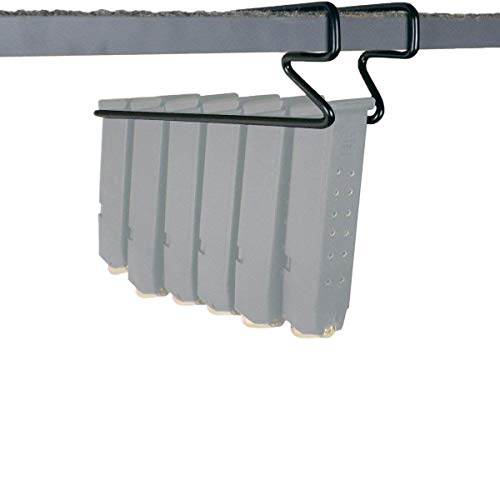 Safety Storage Gun Solution Pack of 2 Under Shelf Magazine Holder