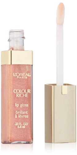 L'Oréal Paris Colour Riche Lip Gloss, Soft Coral, 0.23 fl. oz.