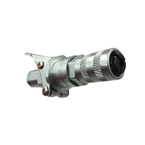 Orcbee  _Grease Coupler Durable Locking Clamp Type Metal Quick Release for ()