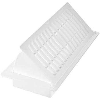 Imperial RG3052 Pop-Up Floor Register, 4 x 10-Inch, White