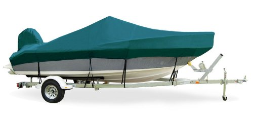 (TaylorMade Products Trailerite Semi-Custom Boat Cover for Offshore Fishing Boats with Outboard Motor (16'5