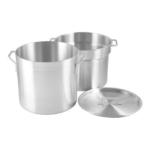 Crestware 20-Quart Heavy Weight Aluminum Double Boiler with 17-1/2 Quarter Inset Capacity