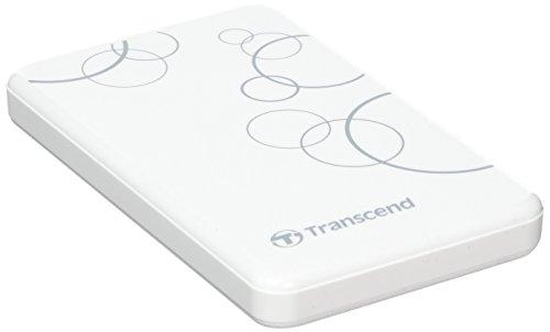 Transcend 1TB StoreJet A3 USB 3.0 Hard Drive (TS1TSJ25A3W)