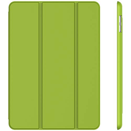 Generations Green - JETech Case for iPad (9.7-Inch, 2018/2017 Model, 6th/5th Generation), Smart Cover Auto Wake/Sleep, Green