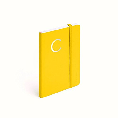 Poppin Small Softcover Ruled Notebook (Yellow) by Poppin
