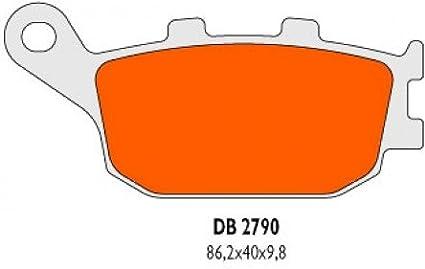 hinten Bremsbel/äge Delta Braking Sinter DB2790RDN f/ür SUZUKI 1250/GSF SA K7//K8//K9//L0/Bandit ABS Baujahr 07 11/