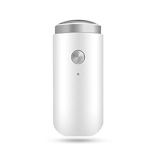 2019 Mini Electric Shaver Razor USB Rechargeable Portable Beard Trimmer Washable for Men's Boyfriend Dry Wet Use