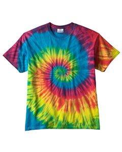 Tie-Dye Womens T-Shirt (CD100Y) -REACTIVE RAI -M