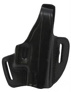 Gould & Goodrich B802-G27 Gold Line Two Slot Pancake Holster (Black) Fits GLOCK 26, 27, 33, 39
