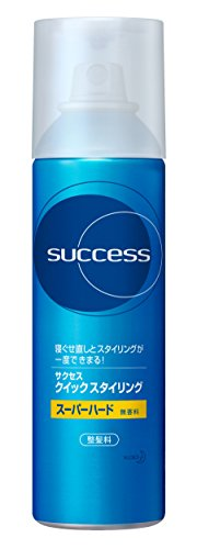 Success Quick Styling Super Hard - 220 grams,(Kao)