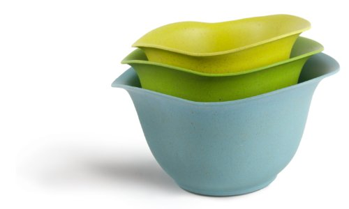 Architec Purelast Mixing Bowl, Blue to Green, Set of 3 ()