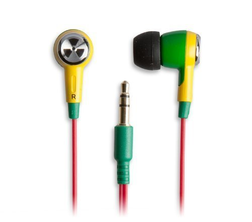 Earpollution Earbuds - EarPollution Ozone Earbuds - Green/Yellow (EP-OZONE-GY-03)