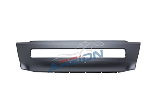 Volvo VNL Truck Center Bumper | Primed and Ready to Paint | Fits Volvo VNL Trucks 2004–2014 | Black Smooth Finish | Direct Replacement for OEM 20470446 | Areion