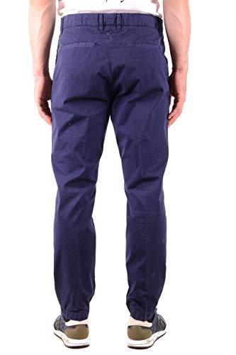 Uomo Pantaloni Alexander Mcq Mcbi36683 Mcqueen Cotone Blu By x6fqaI
