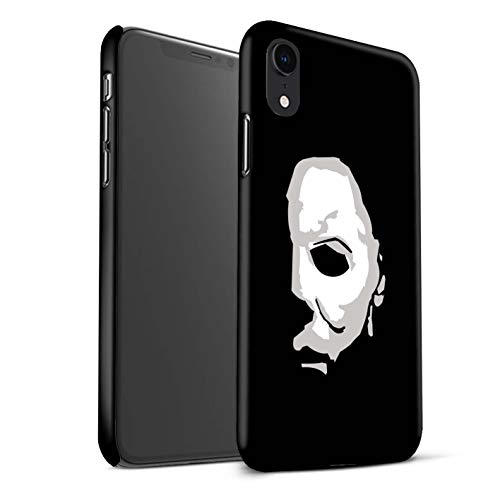 STUFF4 Matte Hard Back Snap-On Phone Case for Apple iPhone XR/Michael Myers Inspired Art Design/Horror Movie Art Collection]()