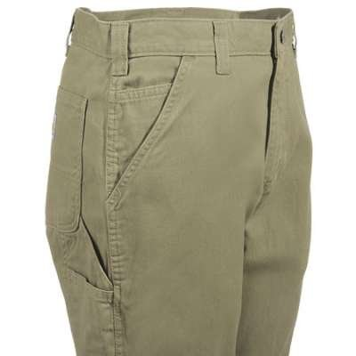 Carhartt Men's Washed Twill Dungaree Relaxed Fit,Field Khaki,42 x 30