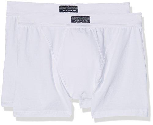 2 De blanco Abanderado Homme Boxer blanco lot Bain Cc1 Multicolore S8wXwx