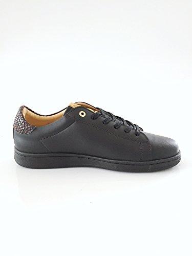 Pantofola d'Oro Herrenschuh Sneaker Echtleder schwarz Größe 41
