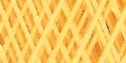 Bulk Buy: Aunt Lydia's Crochet Cotton Classic Crochet Thread Size 10 (3-Pack) Golden Yellow 154-422 by Aunt Lydia's Bulk Buy