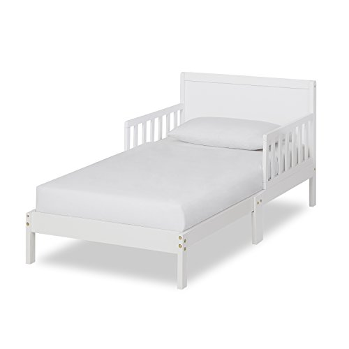 (Dream On Me Brookside Toddler Bed, White)