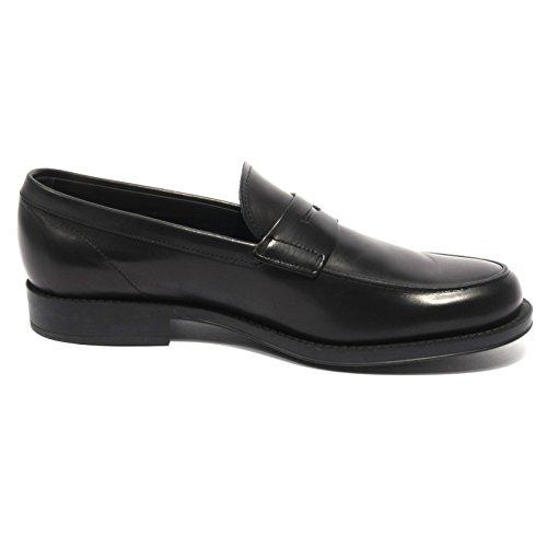 Tods B2012 Mocassino Uomo Scarpa Nero Loafer Shoes Men Nero