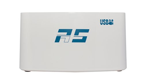 HighPoint Dual Dedicated 5Gbps USB3.0 to 2x SSD / SATA Hard Drive Docking Station (RocketStor - Stores At Highpoint