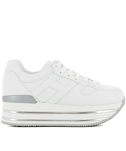 Hogan Leather White Sneakers HXW3460T548KLAB001 Women's TwfqrT
