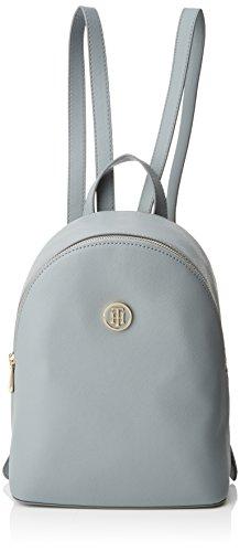 Tommy Hilfiger Honey Mini Backpack, Bolso Mochila para Mujer, 14x28x21 cm (W x H x L) Azul (Sharkskin)