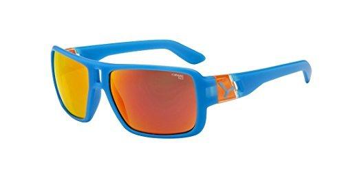 Cb Sunglasses Lam multi-coloured Matte Blue Orange 1500 Grey FM Orange Size:Taille M by - Lam Sunglasses