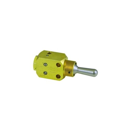 Clippard FBV-3DFH Fill and Bleed Valve, Momentary/Momentary, Adjustable Flow, 10-32
