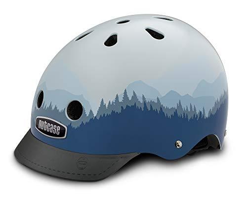 Nutcase - Patterned Street Bike Helmet for Adults, Timberline, Large