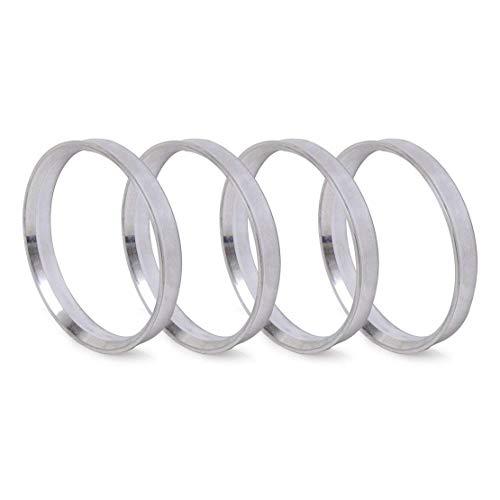 - ZHTEAP 4pc Wheel Hub Centric Rings 73.1 to 66.1 - OD=73.1mm ID=66.1mm - Aluminium Alloy Wheel Hubrings for Most Nissan Infiniti